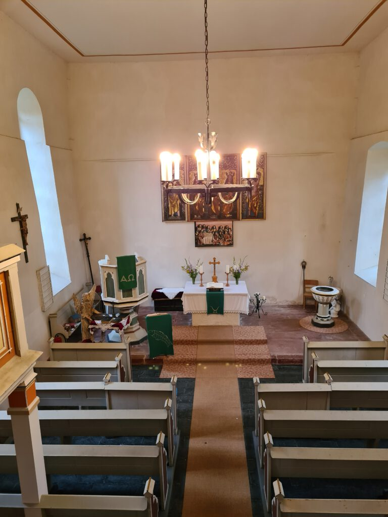 Kirche Schweinbach innen
