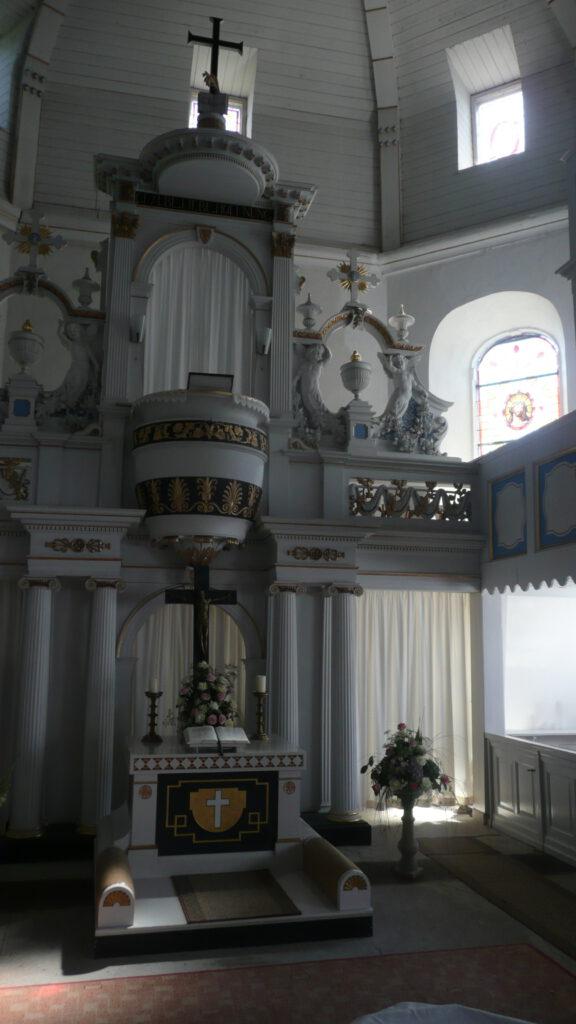 Altar der Kirche Lehesten
