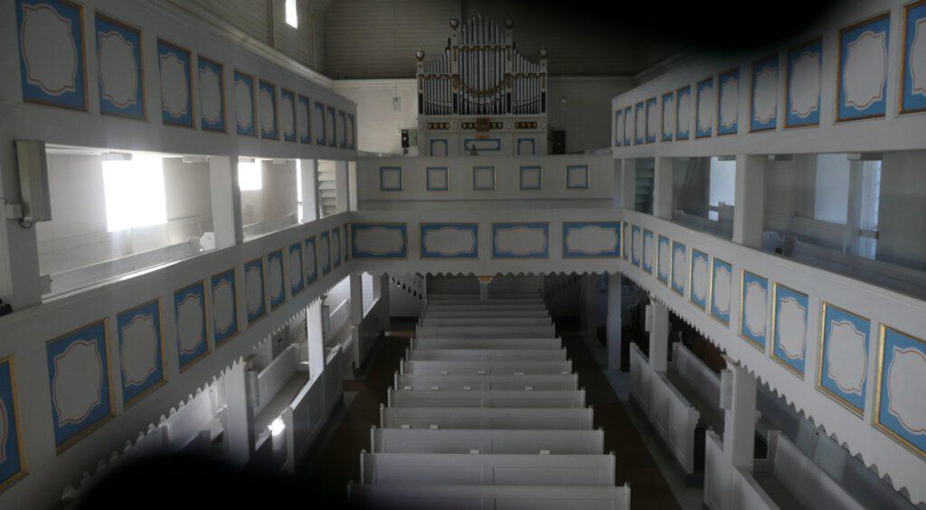 Orgel der Kirche Lehesten