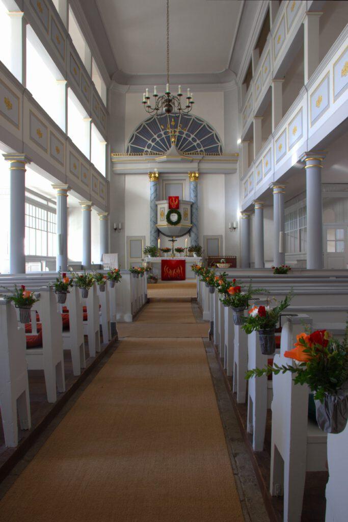 Altar der Kirche Leutenberg