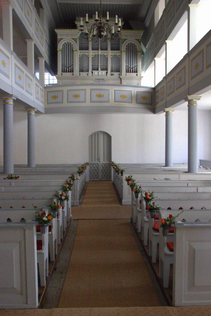 Orgel der Kirche Leutenberg