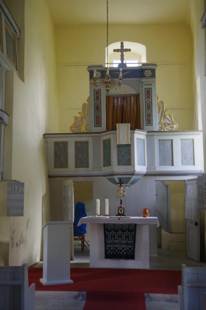 Altar der Kirche Steinsdorf